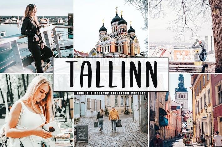 Thumbnail for Tallinn Mobile & Desktop Lightroom Presets