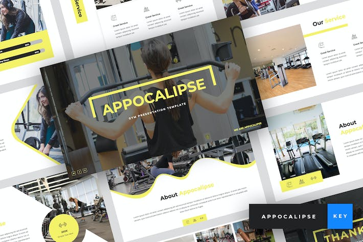 Thumbnail for Appocalipse - Gym Keynote Template