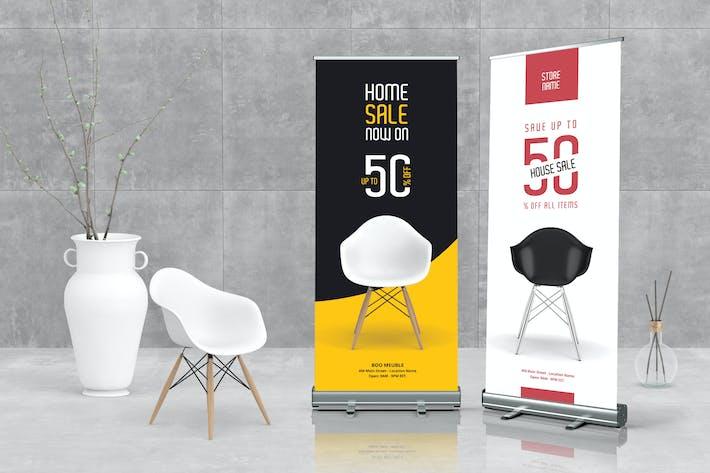 Thumbnail for bannière enroulante pour meubles