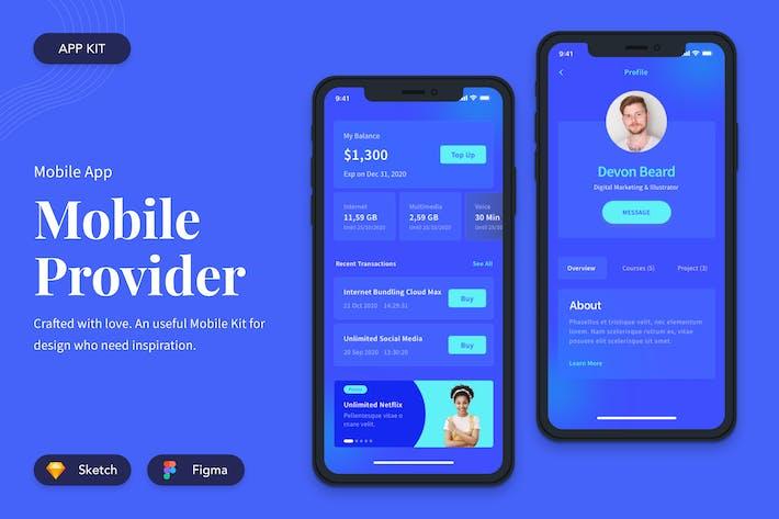 Thumbnail for Mobile Provider UI Kit