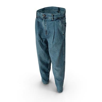 Herren Jeansblau
