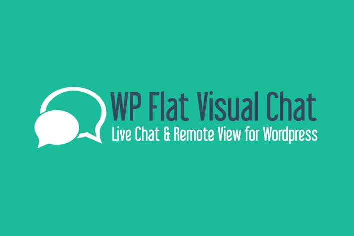 Thumbnail for WP Flat Visual Chat