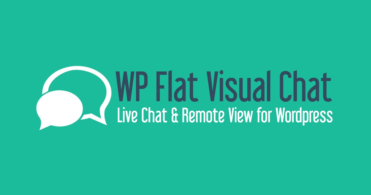 Download WP Flat Visual Chat by loopus