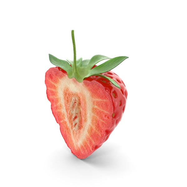 Strawberry Cross Section