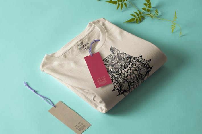 Thumbnail for Eule Mandala T-Shirt Design Vektor Illustration