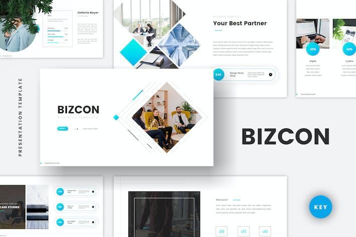 Cover Image For Business Corporate Keynote Template