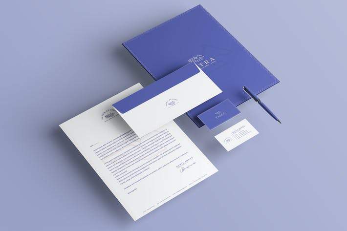Thumbnail for Patra Branding Identity & Stationery Pack