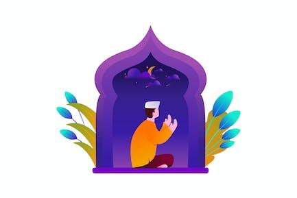 Ramadhan - Illustration Vecteur