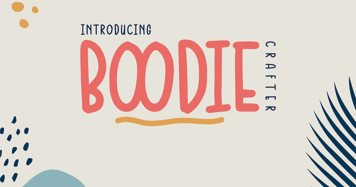 Download Boodie Crafter Font by tacikworks