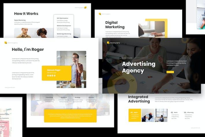 Thumbnail for WerbeAgentur Keynote Präsentation
