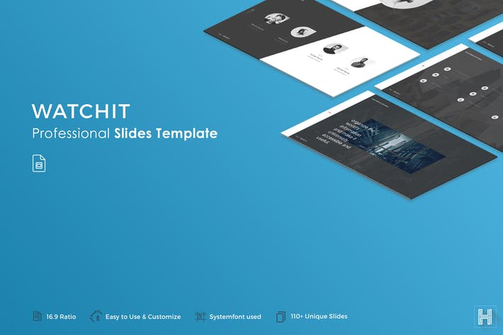 Thumbnail for Watchit Slides Template