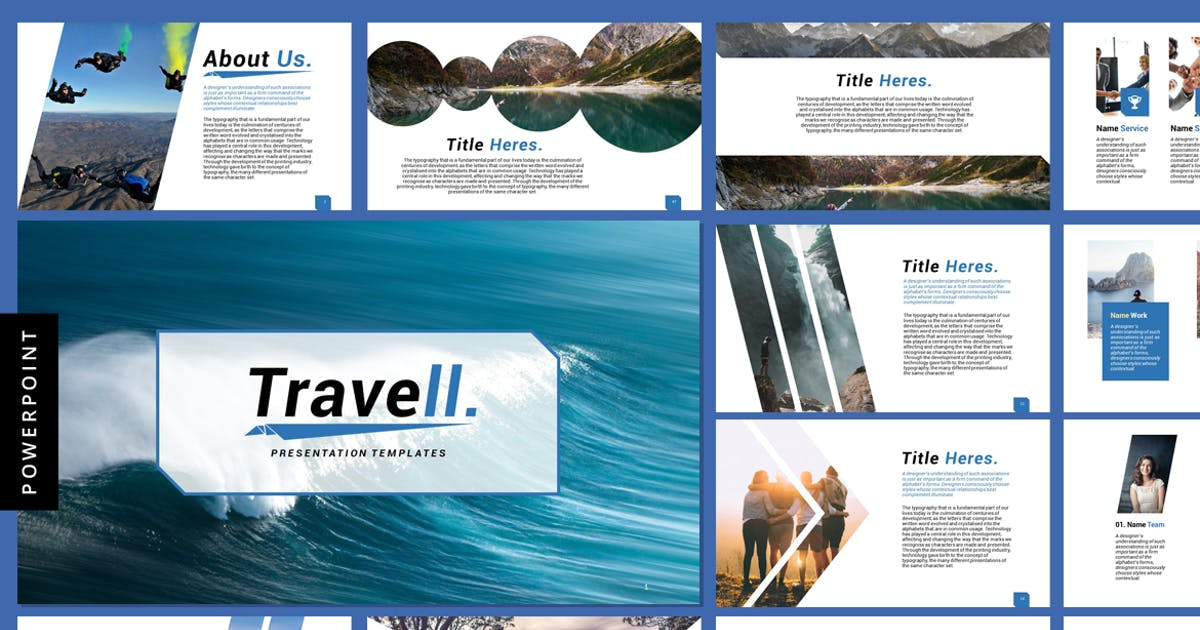 Travell - Powerpoint Presentation Templates by Voltury