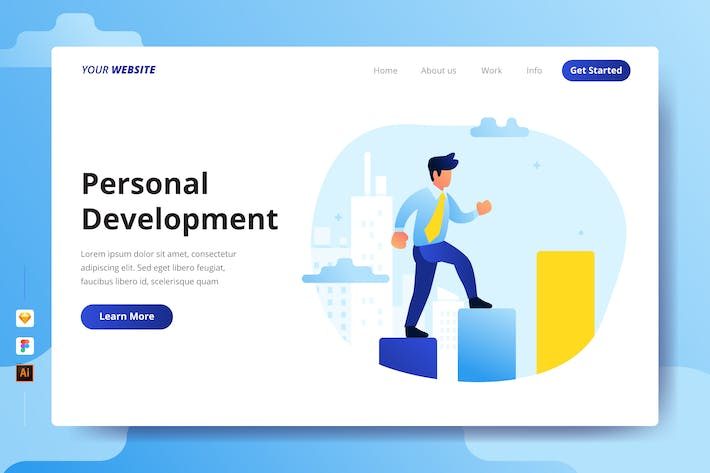 Thumbnail for Personal Development - Landing Page