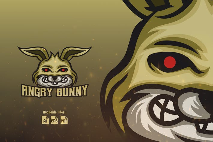 Thumbnail for Angry Bunny Sport and Esport Logo