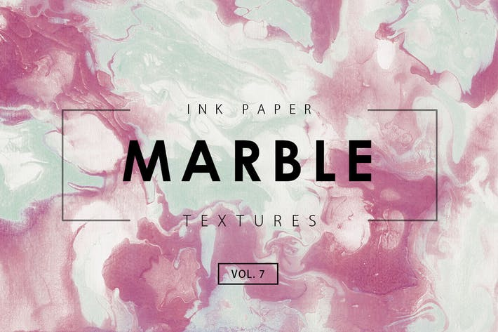 Cover Image For Marble Ink Textures 7