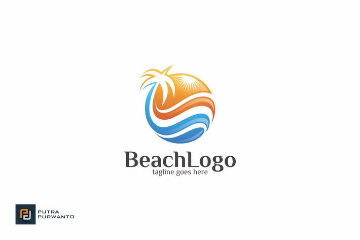 Thumbnail for Beach - Logo Template