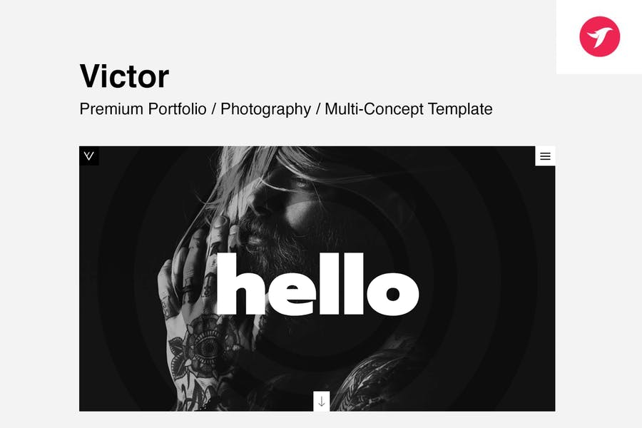 VICTOR - Creative Portfolio / Photography Template
