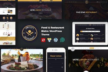 La Boom - Essen & Restaurant Bistro WordPress Thema