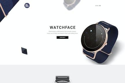 Beza – Single Product PSD Template