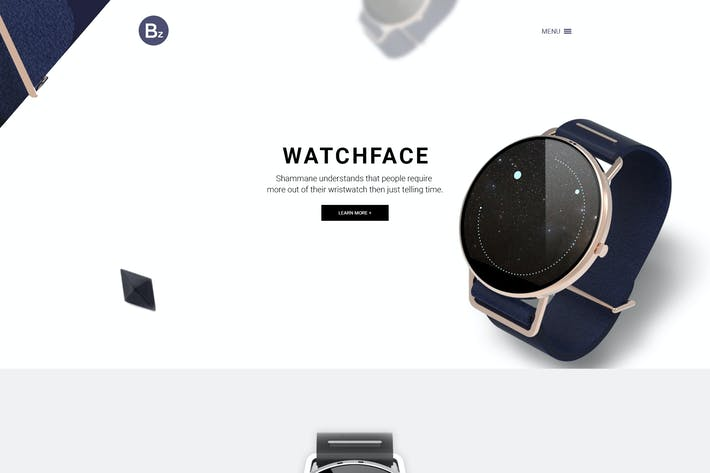 Thumbnail for Beza – Single Product PSD Template