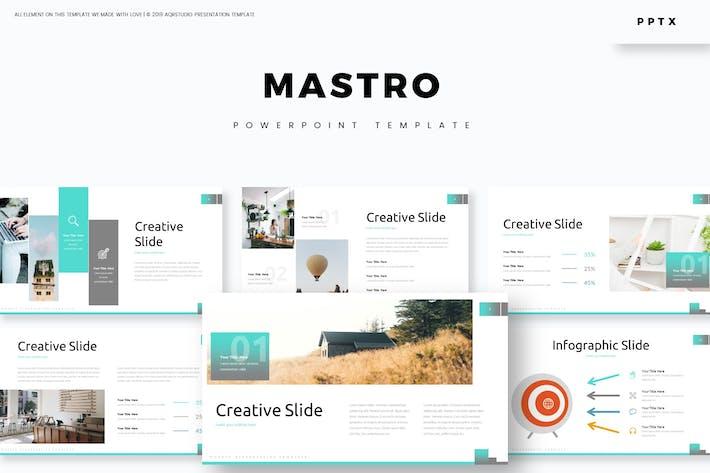 Mastro - Powerpoint Template