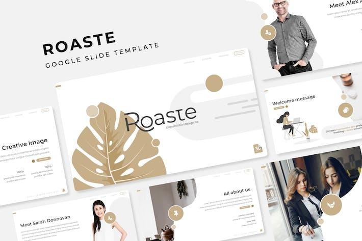 Thumbnail for Roaste - Google Slide Template