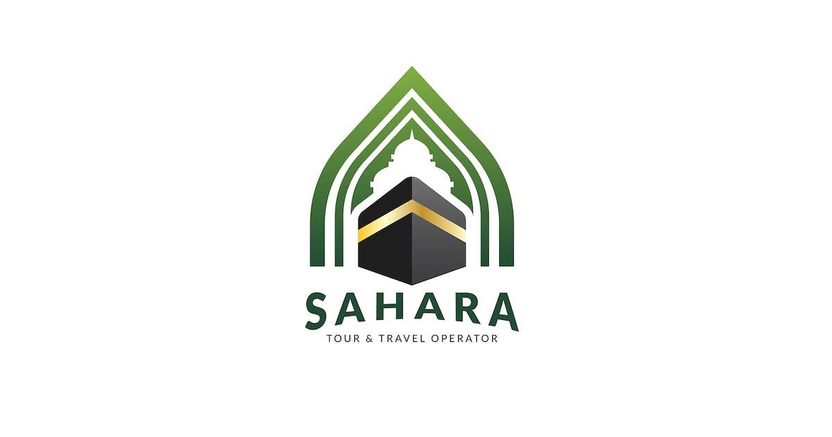 Umrah & Hajj Logo Template by Slidehack