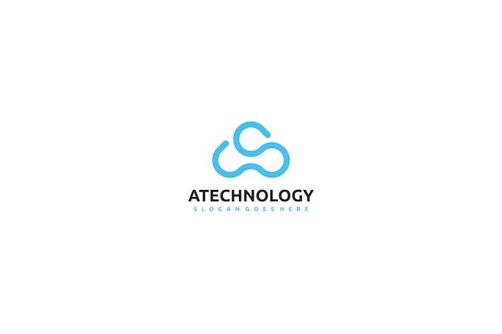 Thumbnail for A Letter- Technology Logo