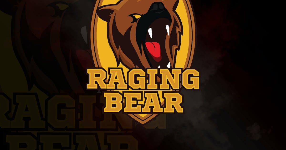 Download Raging Bear - Mascot & eSport Logo Template RB by Rometheme