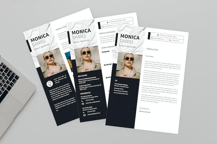 Thumbnail for CV Put On Resume Designer