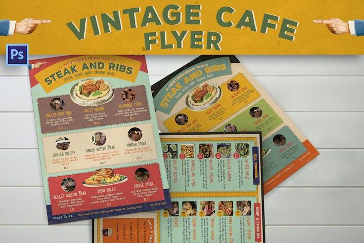 Thumbnail for Vintage Cafe Flyer