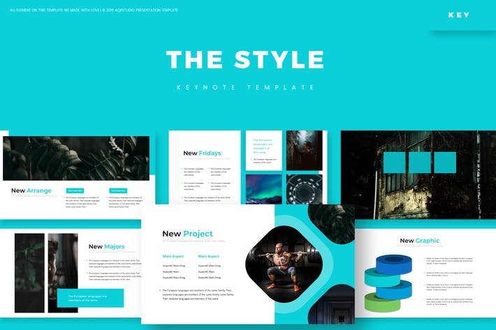 Thumbnail for The Style - Keynote Template