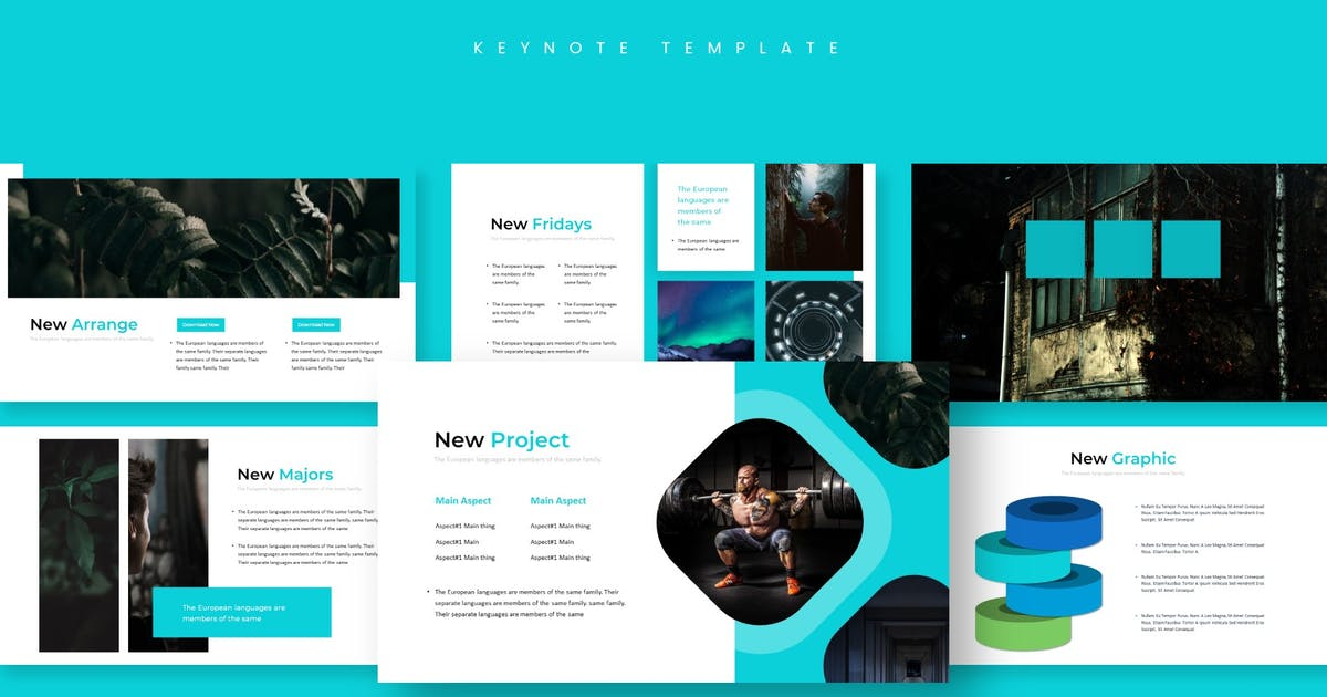 Download The Style - Keynote Template by aqrstudio