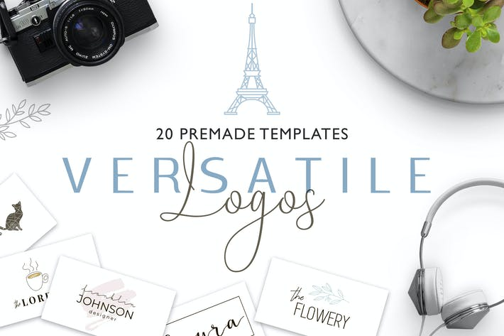Thumbnail for Versatile Logo Templates V.2