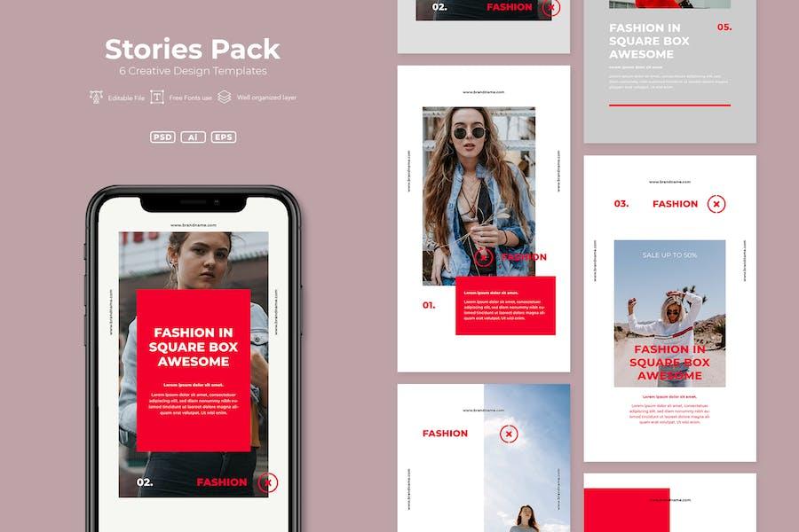 SRTP - Stories Pack. v02