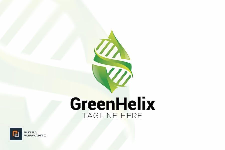 Green Helix - Logo Template