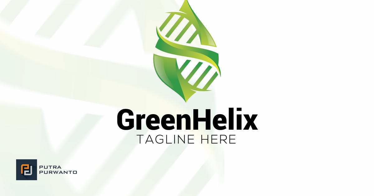 Download Green Helix - Logo Template by putra_purwanto
