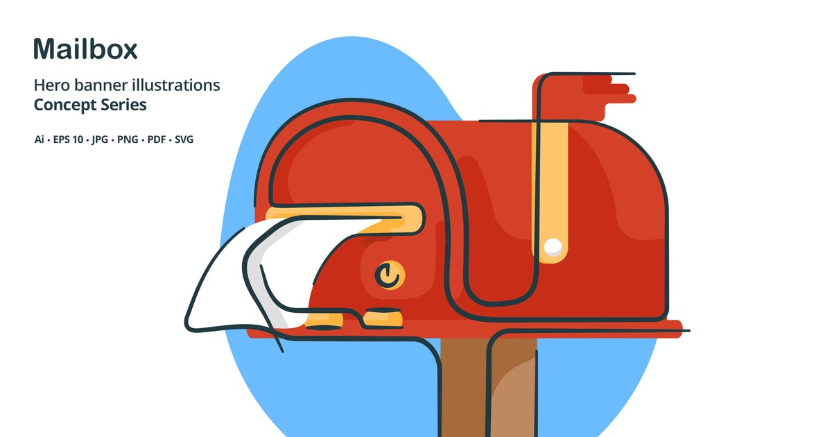 Download Mailbox Inbox Vector Illustration by roundicons