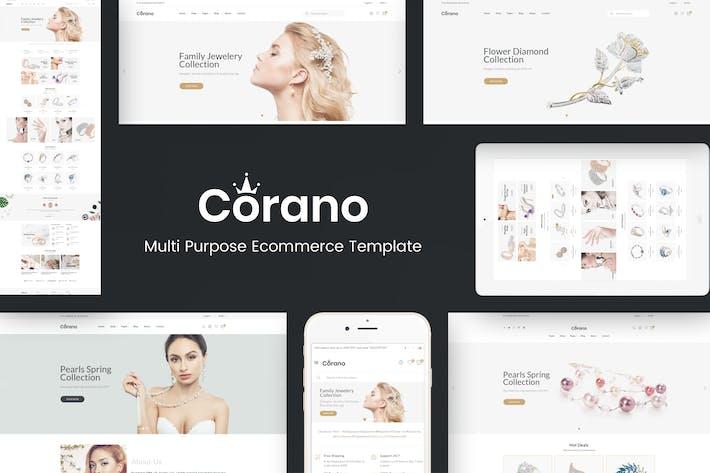 Thumbnail for Corano - Jewellery Theme for WooCommerce WordPress
