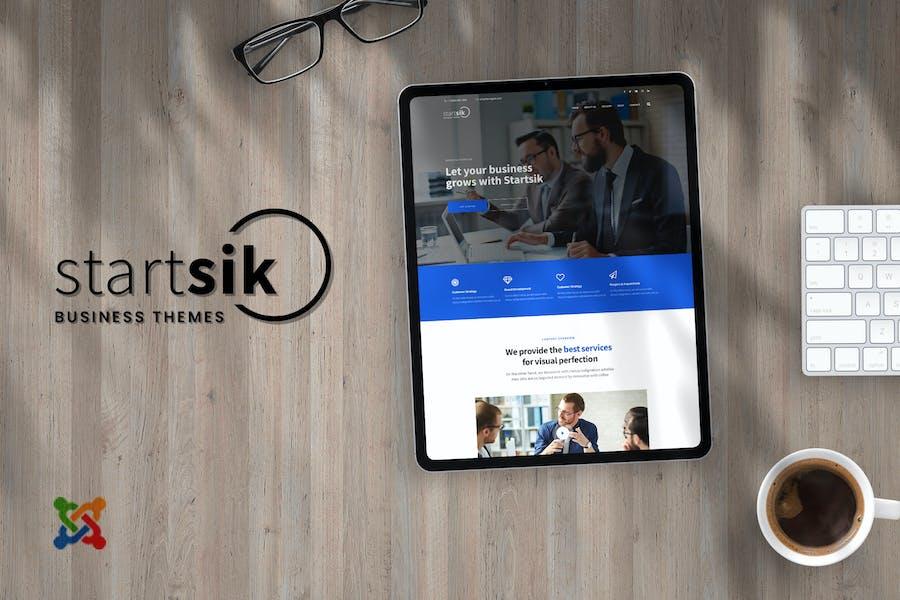 Startsik - Бизнес и консалтинг Шаблоны Joomla