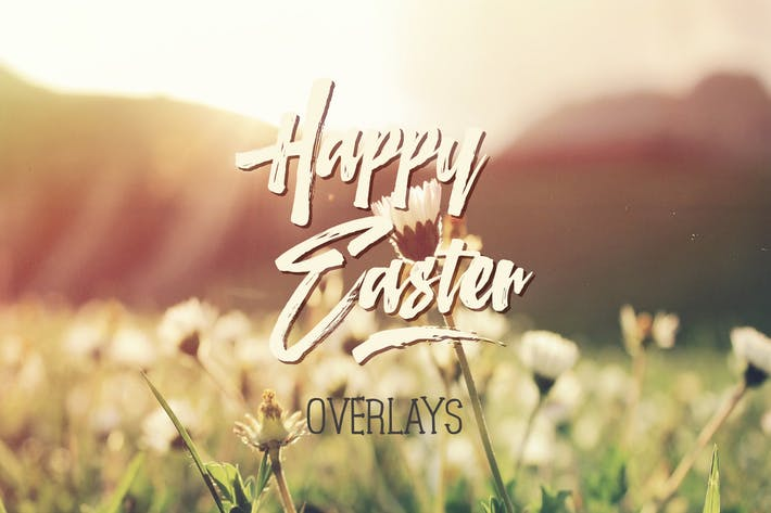 Easter Overlays & Lettering