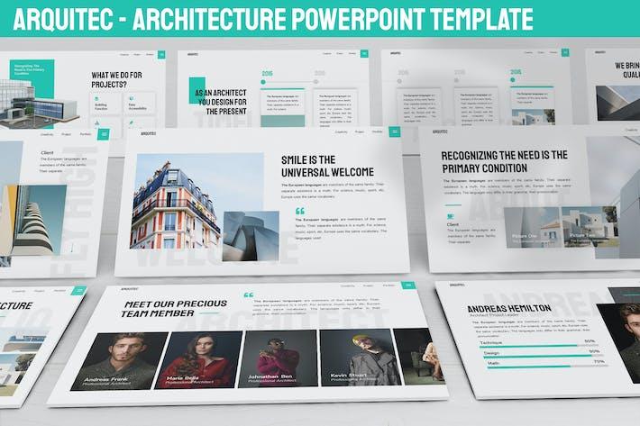 Thumbnail for Arquitec - Архитектура Powerpoint Шаблон