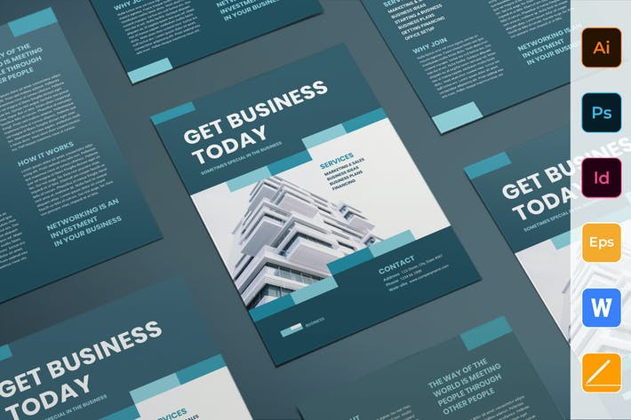 Cover Image For Business Networking Flyer