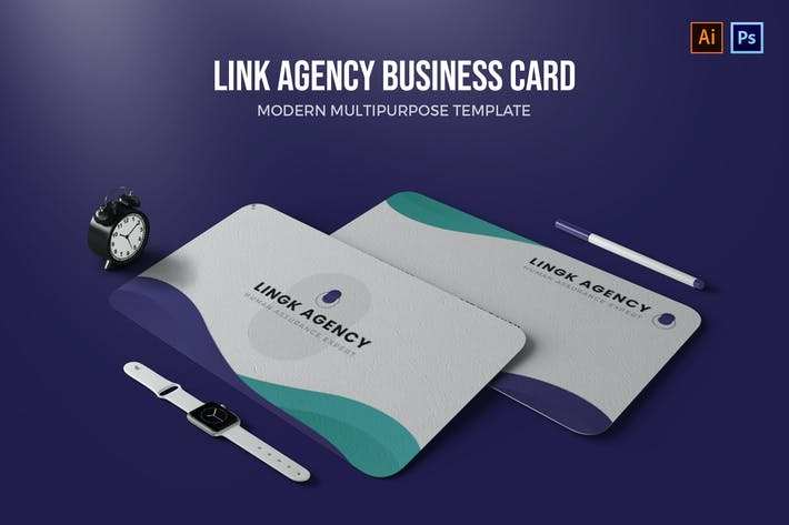 Thumbnail for Link Agency - Business Card