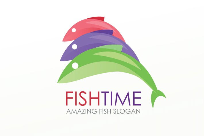 Thumbnail for FishTime Logo Template