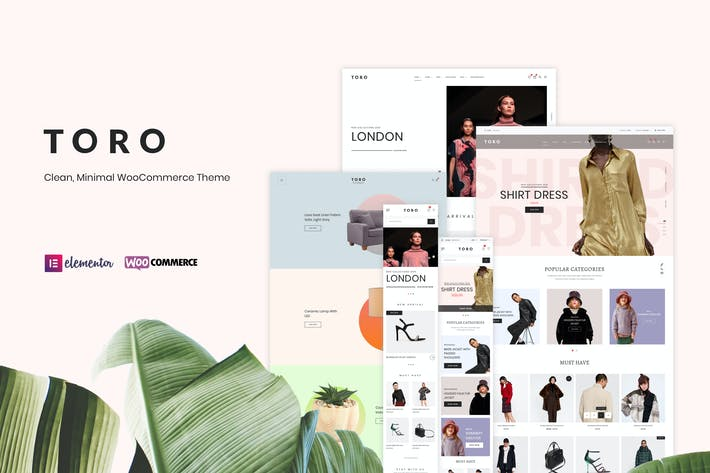 Thumbnail for Toro - Clean, Minimal WooCommerce Theme