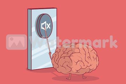 Mute Brain