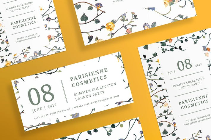 Thumbnail for Cosmetics Brand Flyer and Poster Template