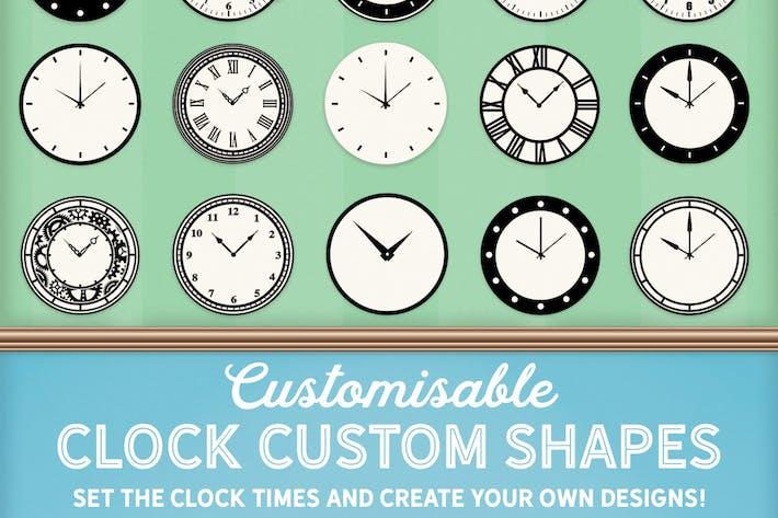 Thumbnail for Настраиваемые часы пользовательские фигуры