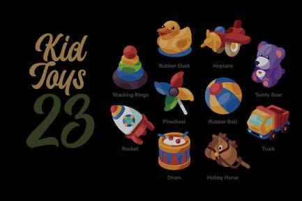 Kid Toys - Illustration Sets